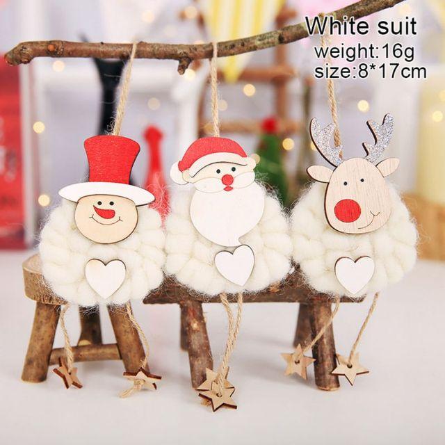 Funny Santa Claus Christmas Tree Ornament Handicrafts Christmas Felt