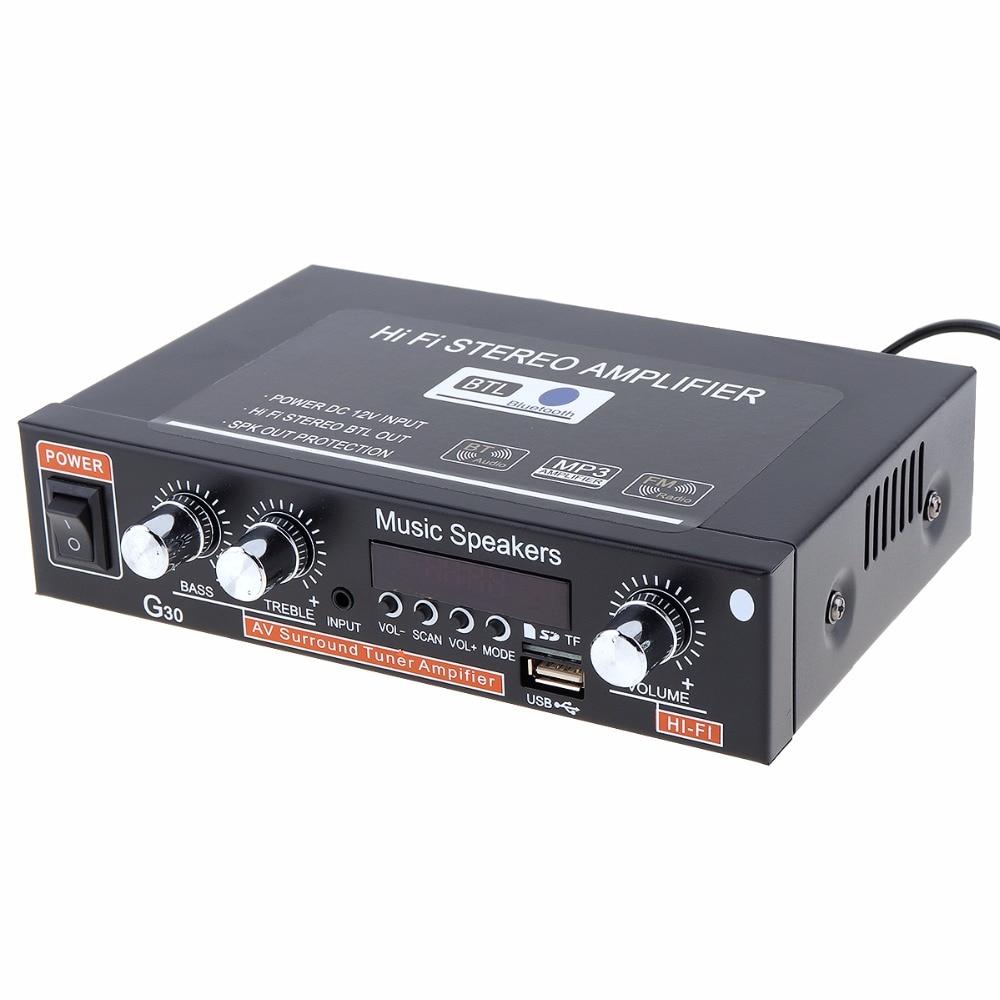 автоматический громкой связи; ФМ передатчик Bluetooth; Импеданс:: 4-8 ом; tpa3116d2 HiFi усилитель ;