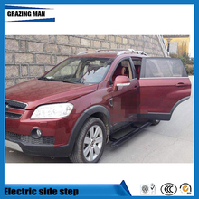 Hot sale Flexible aluminium alloy side step running board Electric pedal for Captiva 2015 2016
