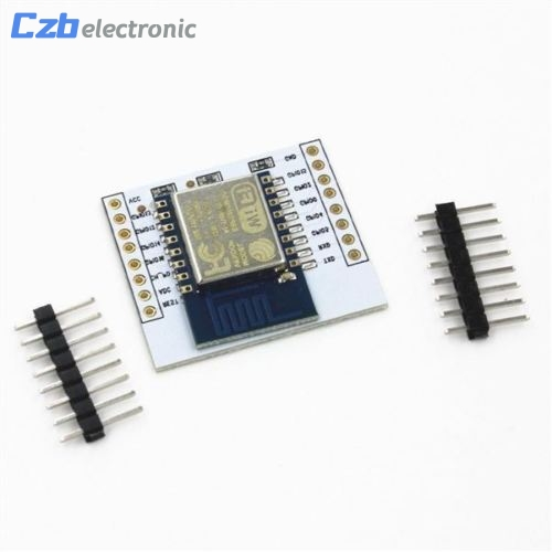 ESP8266 ESP-12E Remote Serial Port WIFI Module with IO Adapter Plate Expansion ...