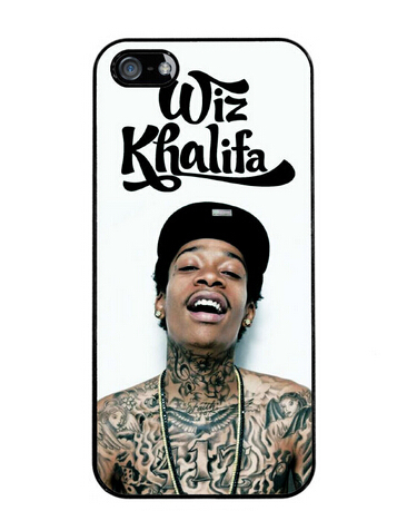 Wiz Khalifa Rap Hip Hop Tattoos Best Cover Case for iphone 4 4s 5 5s 5c 6 6s 6plus 6s plus