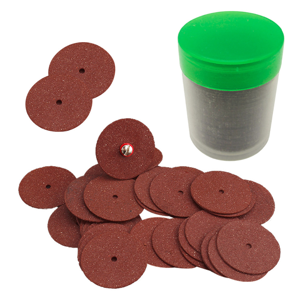 36PCS 24mm Resin Metal Cutting Blade Wheels Disc Set For Dremel Rotary Tool Woodworking