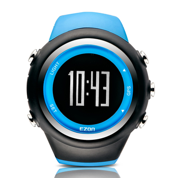 EZON Sports Watch Calories Counter Rechargeable GPS Timing 50M Waterproof