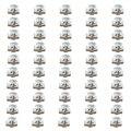 50 Unids Bajo El Capó del motor Pase de Rueda Kit de Tornillo de Metal Clip 8D0805121 para vw passat b5 audi a4 a6 1997-2004 2005 para skoda superb i