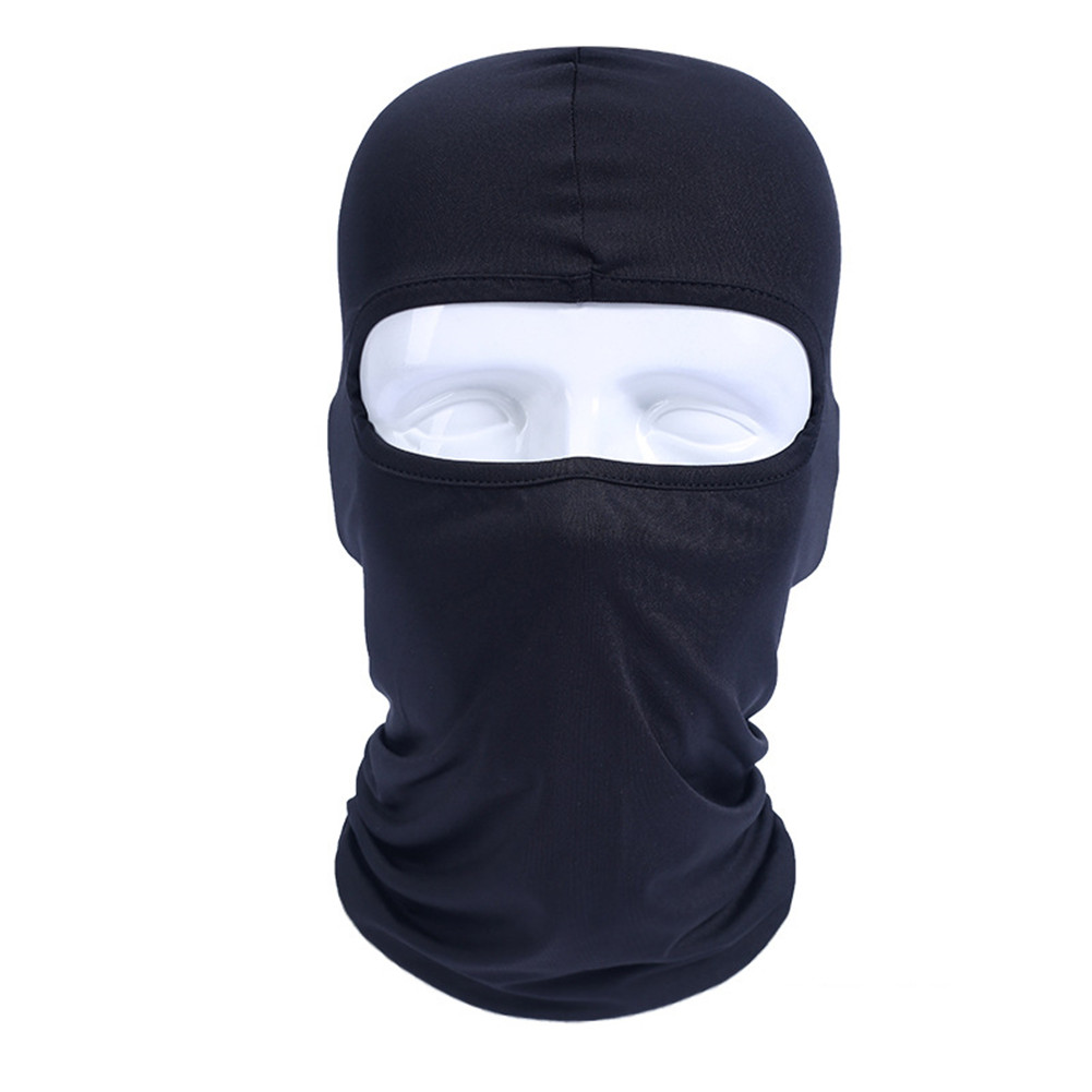 Motorcycle Balaclava Face Mask Masque Moto Full Face Masks For Motorcycle Helmet Summer Breathable Black Maske Riding Gear