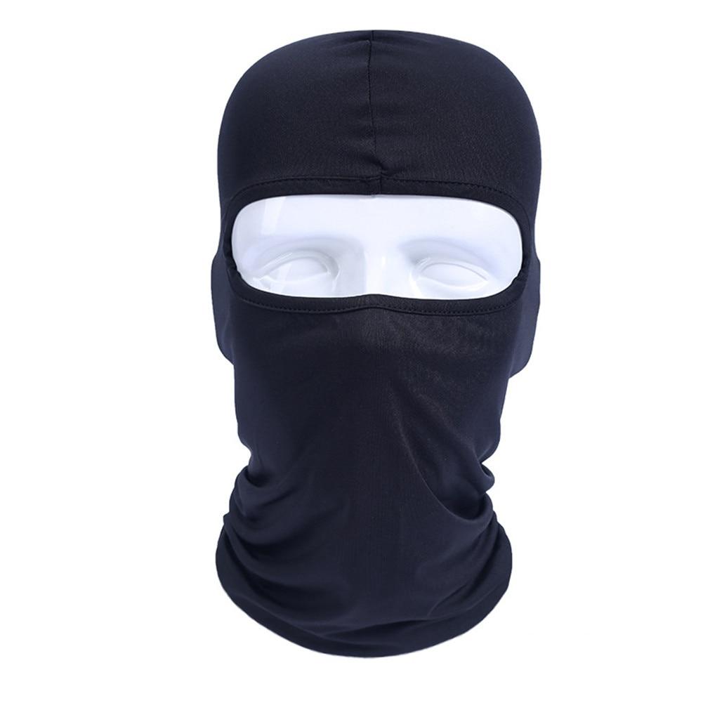 Motorcycle Balaclava Face Mask Masque Moto Full Face Masks For Motorcycle Helmet Summer Breathable Black Maske Riding Gear