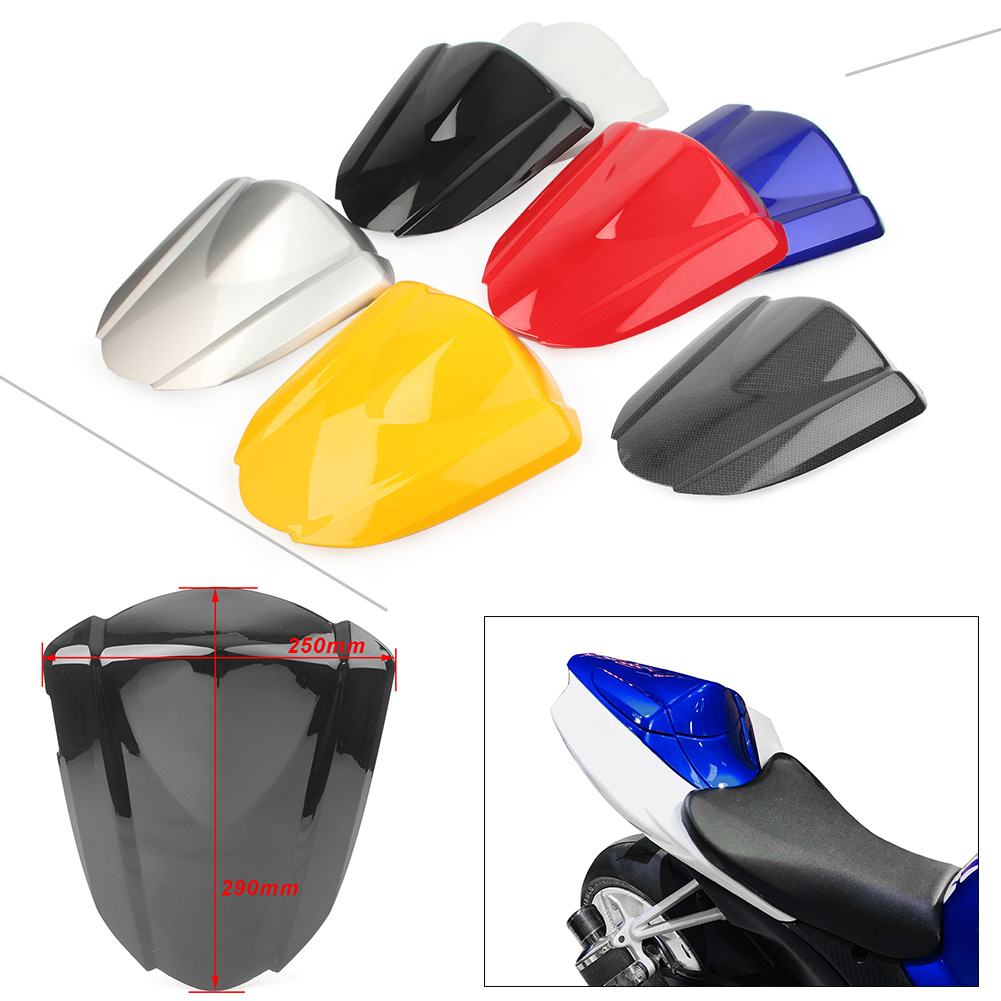 Motorcycle Seat Cover Rear Pillion Passenger Cowl Back Cover Fairing For <font><b>Suzuki</b></font> GSXR1000 <font><b>GSXR</b></font> <font><b>1000</b></font> 2007 <font><b>2008</b></font> K7 image