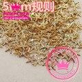 Wholesale 100PCS/Lot 5MM 3D Regular Starfish Shape Gold Silver Color Metallic Nail Art DIY Decorations 290254