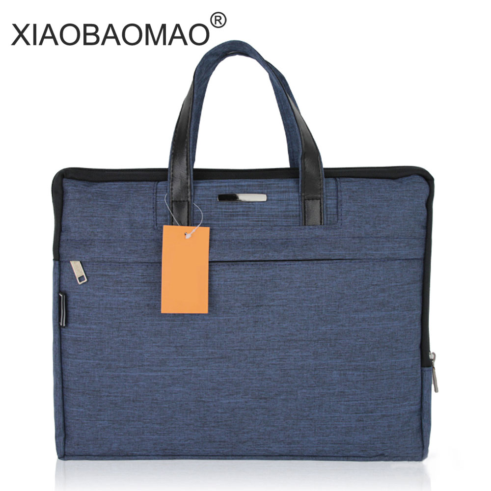 Commercial Business Document Bag A4 Tote file folder Filing Meeting Bags Side Zipper Pocket office bags protable canvas чехол для сотового телефона nillkin star case 6902048146433 черный