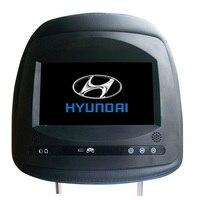 2 шт./упак. 7 монитор подголовника автомобиля для hyundai Elantra Tucson ix35 ix45 с HD цифровой экран