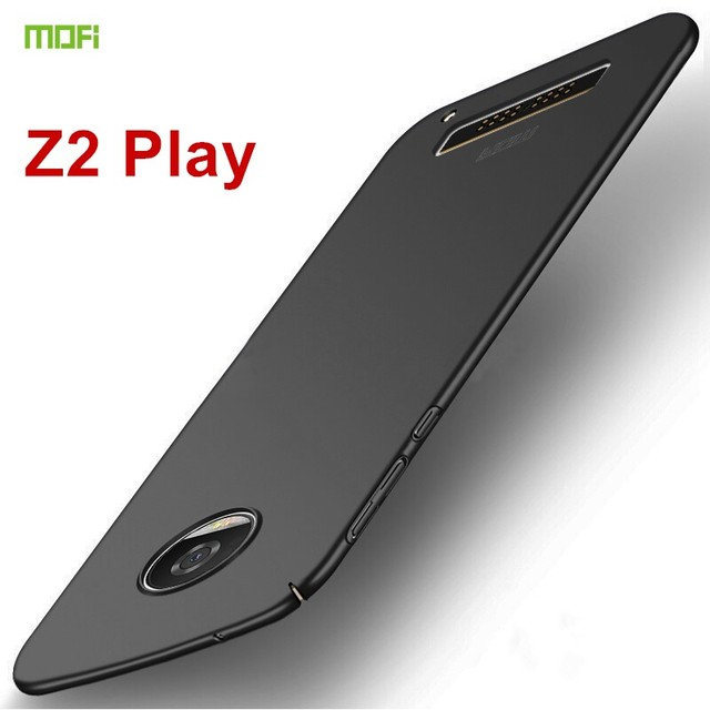 timeless design dcbb9 a1fd8 US $5.91 23% OFF|For Motorola Moto Z2 Play Case Back Cover 5.5 inch MOFi  Luxury PC Protective Phone Shell Hard Case for Moto Z2 Play Cover Coque -in  ...
