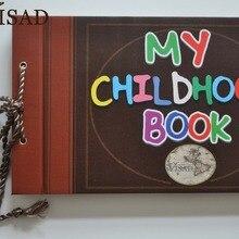 19x29,5x2,5 см клейкий Тип фотоальбом моя детская книга приключений свободный лист фотоальбом лучший подарок для ребенка