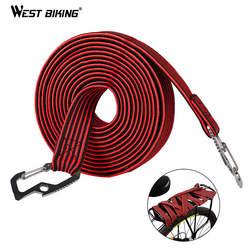 WEST BIKING 2 м/4 M Велоспорт эспандер углерода Сталь крючок велосипед Чемодан несущей эластичный шнур крыши жгут для багажника фиксируется