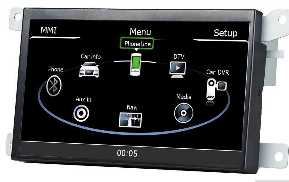 Автомобиль gps навигации Системы автомобиля медиа-стерео Авто Радио авторадио для Audi A4 A5 Q5 S4 RS4 S5 RS5 SQ5 поддержка Зеркало Ссылка
