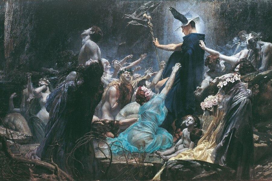 Greek Mythology Paintings (Museo del Prado, Madrid)