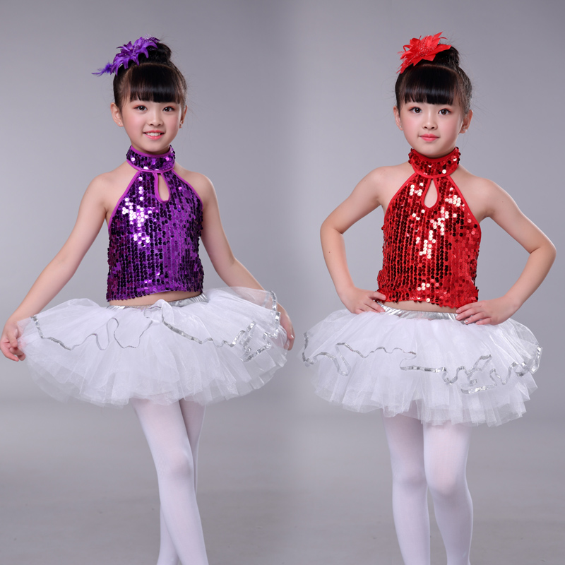 Ballet Girls Ballet Dance Dress Lovely Piece Skirt Black And White Color Stage Performance Dance Dress M-0709