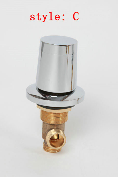 ᗖBrass mixer faucet bathtub set of taps for hot and cold water ...