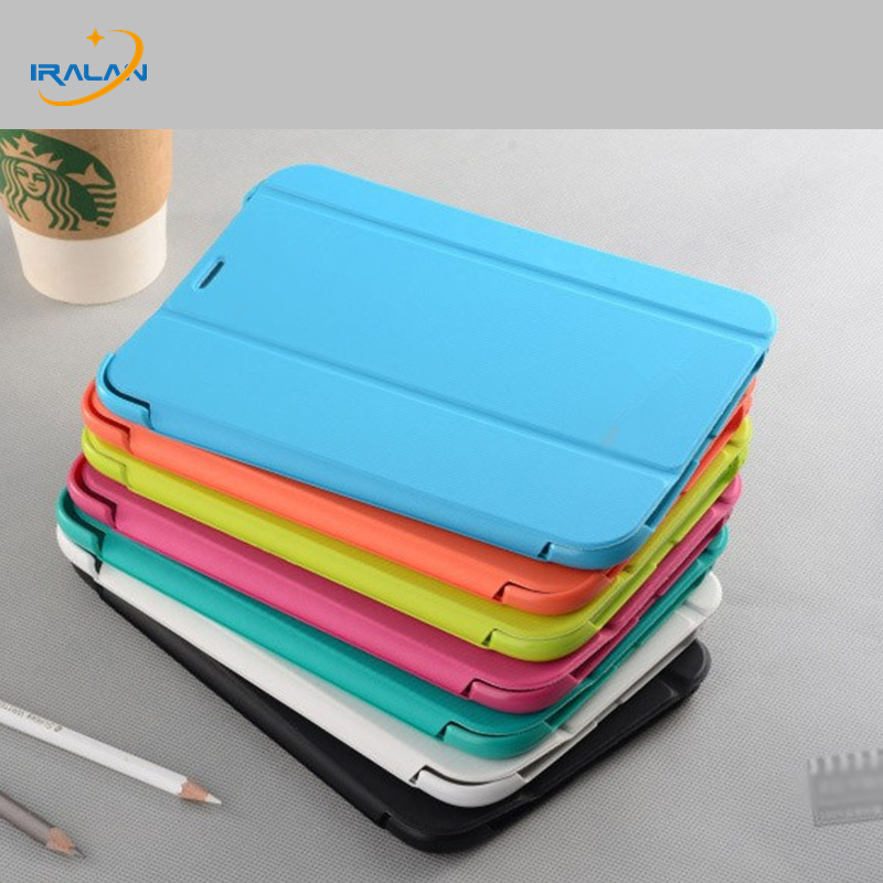 New Business Ultra Slim Smart Case For Samsung Galaxy Tab A 8.0 T350 T351 T355 P350 P351 P355 Pu Leather Book Cover+Stylus+Film