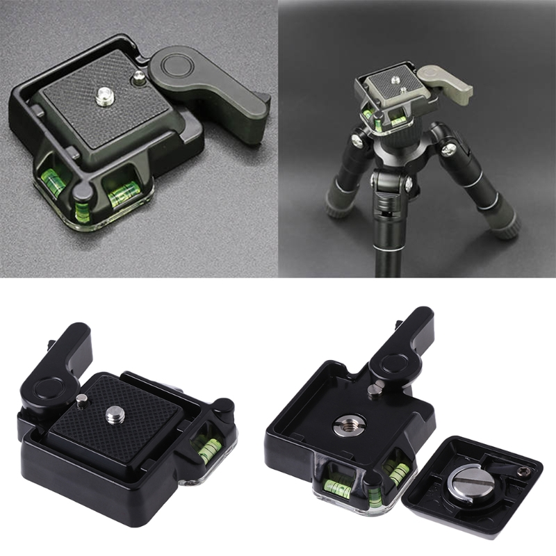 1/4Or 3/8 Thread Clamp & Q40 Low Profile Quick Release QR Plate Mount Holder