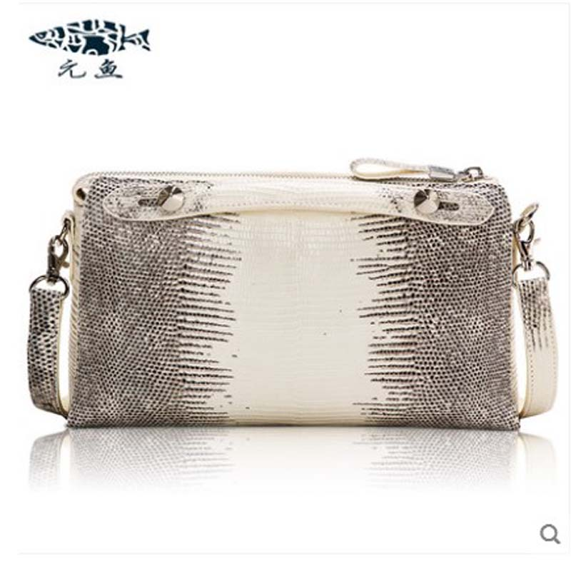 Frauen High Tasche Schulter Kleine Umhängetasche Yuanyu grade Haut Platz a1 Neue Importiert A2 Aus Eidechse Leder Kleinen Echten Echtem q1XHO1A