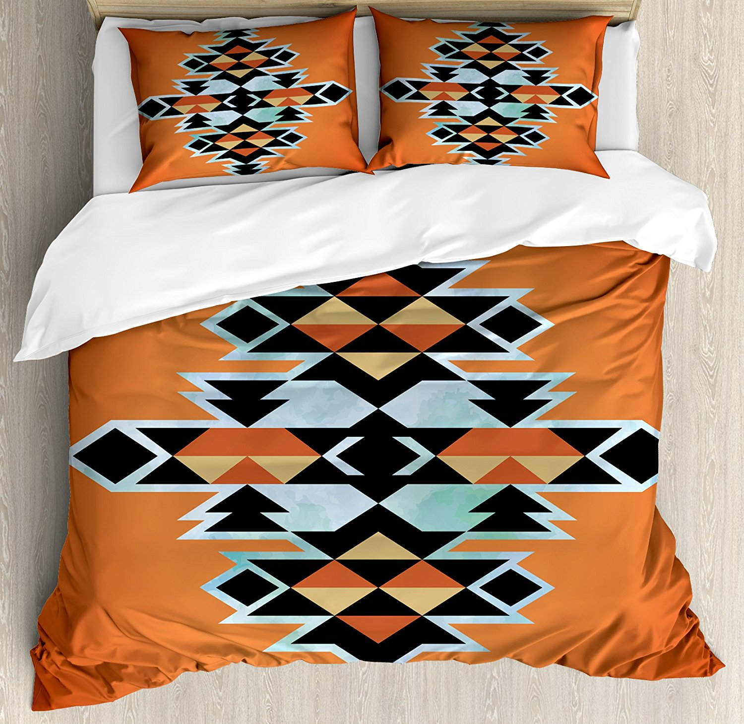 tribal quilt geo duvet product cover