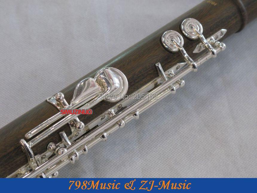 PROFESIONAL Hijau Cendana Flute-B-kaki-Open - Alat-alat musik - Foto 6