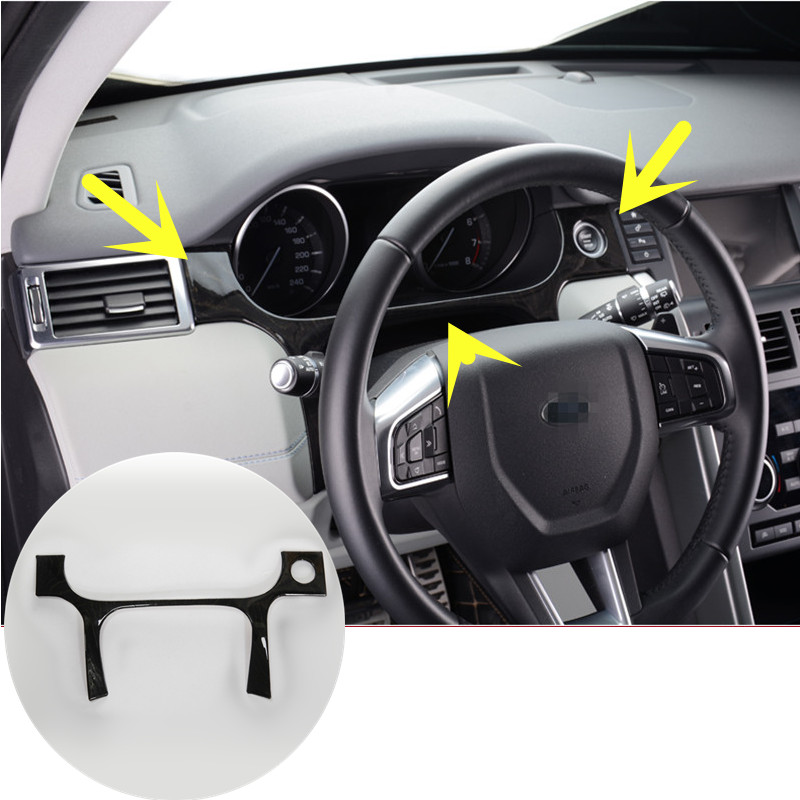 Stainless Dashboard Edge Cover Trim For Land Rover Discovery Sport 2015-2016 Black 1pcs elvis costello elvis costello the costello show king of america