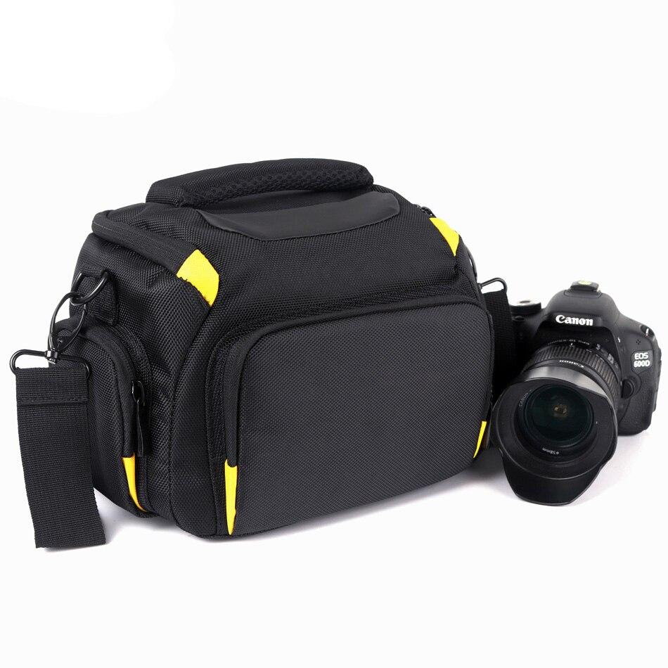 DSLR Camera Bag Case Pour Nikon D7500 D850 D7200 D7100 D7000 D5300 D5200 D5100 D5000 D3400 D3300 D3200 D3100 D80 d90 Épaule Sac