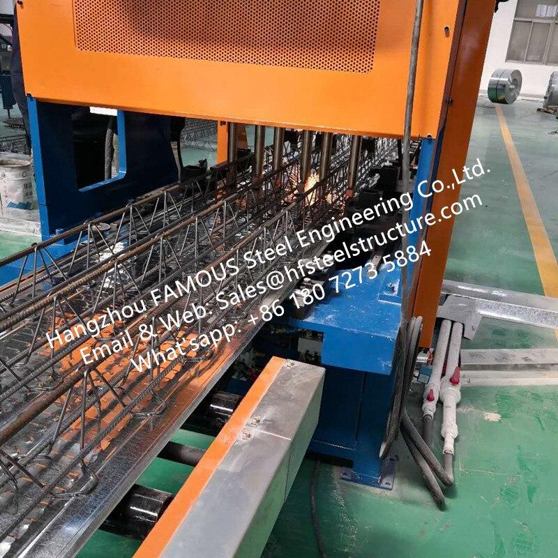 Galvanised Steel Floor Decking System Of Reinforced Concrete Floor Deck For Multi-storey Steel Building Kits