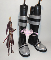 The Legend of Heroes Alan Richard Halloween Cosplay Shoes Boots H016