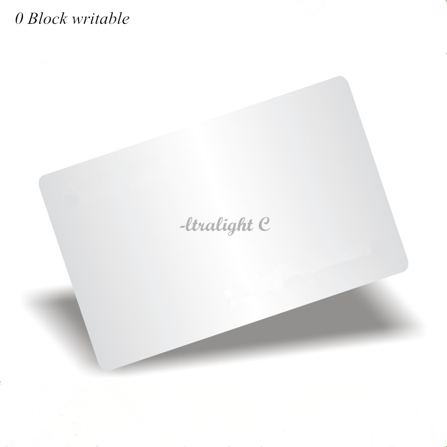 UID Changeable Ultralight C Card 0 Block Writable Chinese Magic Card