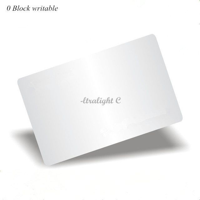 UID changeable Ultralight C Card 0 block writable Chinese Magic Card