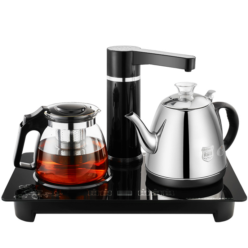 Automatic water electric kettle 304 glass insulation cup tea for brewing fully automatic water kettle electric glass water ketting kettle tea set