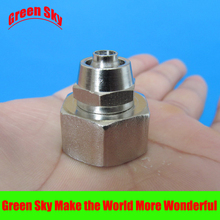 10mm OD Hose Barb Tail To 1/2 Inch BSP Female Thread Connector Joint SS 304 Stainless Steel Pipe Fitting