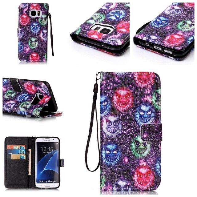 For capas Samsung Galaxy S7 Edge S7Edge G935F SM-G935F G935 flip leather case for galaxy SM-G935 G935FD SM-G935FD G935r4 cover