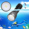 Diving Video D34VR 5000 Lumen Underwater Flashlight 4xCree XML2 LED White Light linterna buceo video 26650 Scuba Dive Torch Lamp