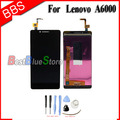 100% New LCD Display Touch Screen digitizer + Free Repair Tools Replacement Assembly For Lenovo A6000 Black