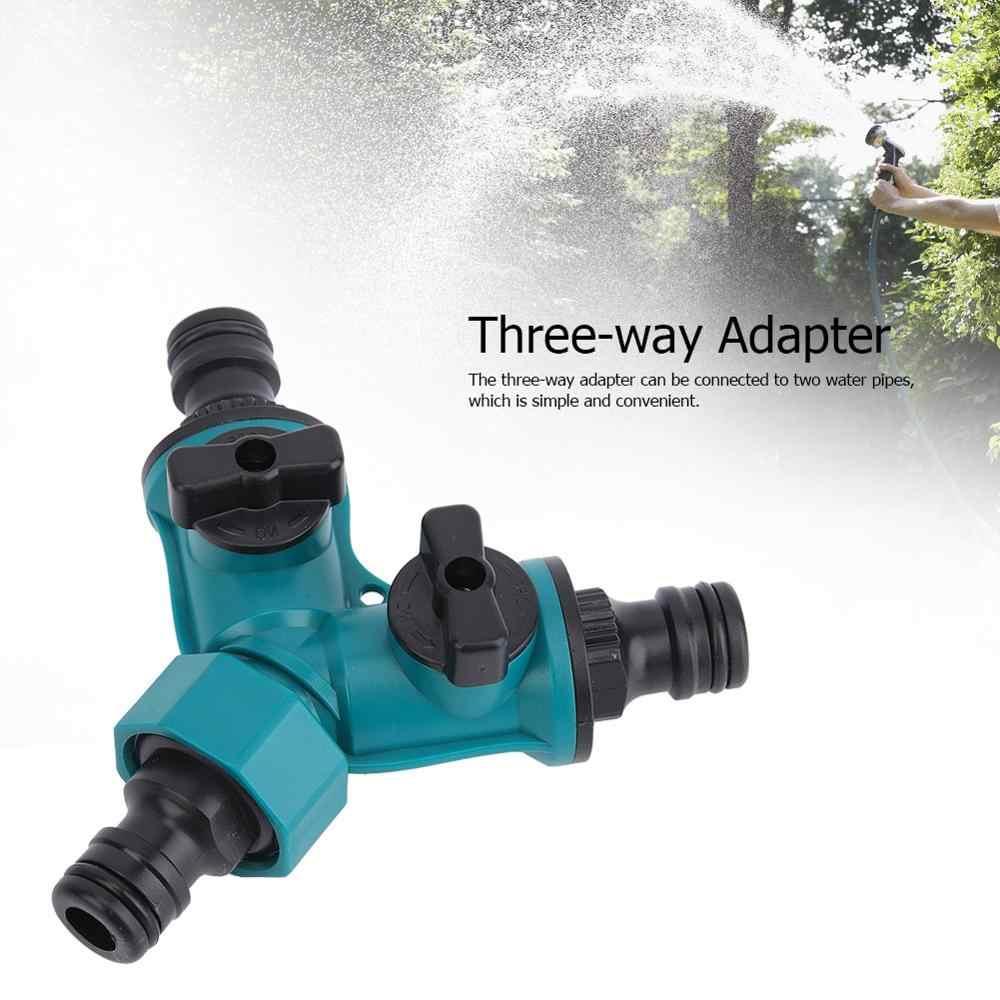Taśma wąż 2 sztuk trzy-sposób Y złącze typu złącze do rur wodnych z przełącznikiem realizacji pistolet narzędzia rolnicze