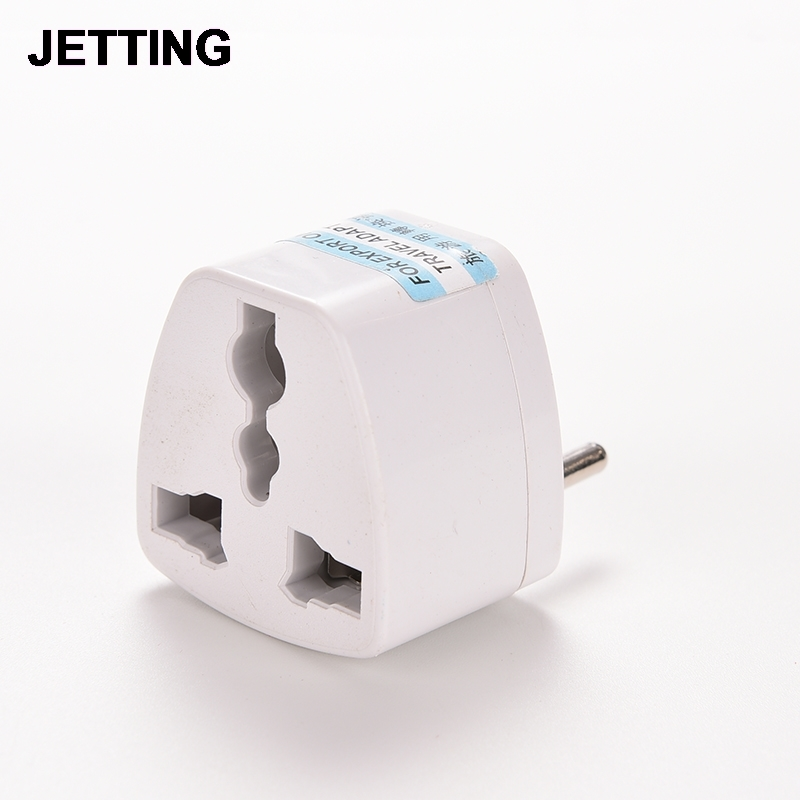 White Converter Conversion Plug Universal EU GER AU CHN Plug Adapter European Germany Australia Chinese Power Socket
