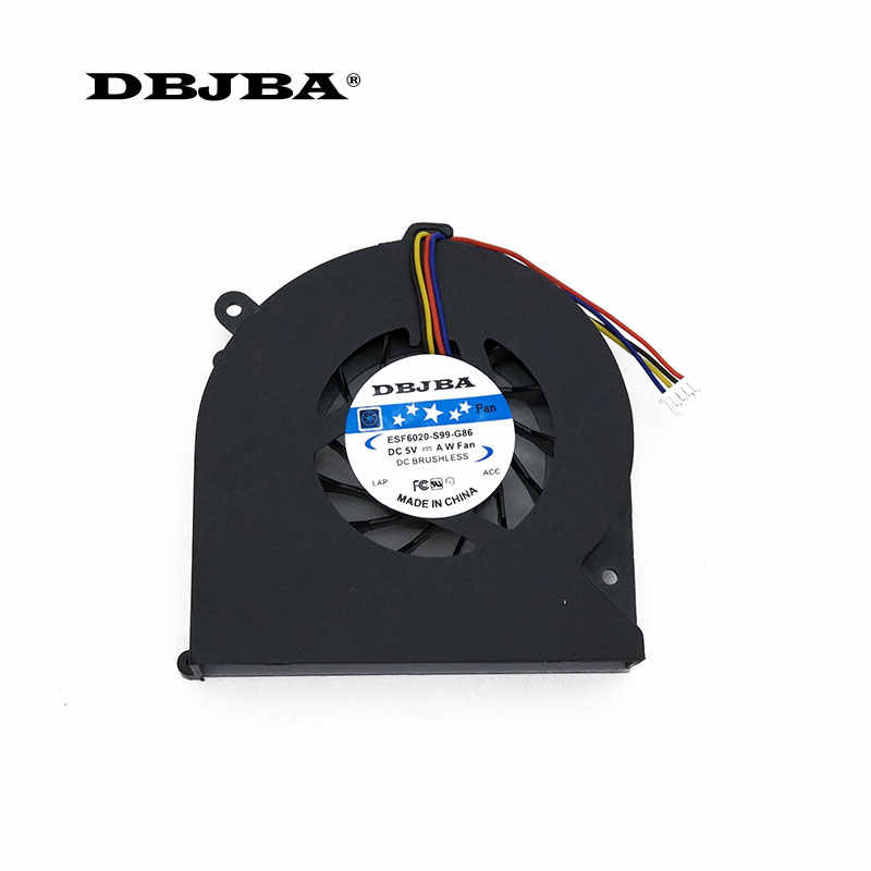 Laptop CPU Cooling Fan UNTUK HP Elitebook 8460 P 8470 W 8470 P AJ66 6033B0024001 641839-001 6033B0024002 KSB0505HB Fan
