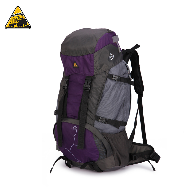 KIMLEE 45L Large Capacity Camping Backpack Waterproof Travel Hiking Trekking Pack Sack Professional Sports Bag With Rain Cover global elementary coursebook with eworkbook pack