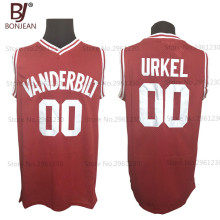 BONJEAN Family Matters #00 Steve Urkel Vanderbilt Muskrats High School Basketball Jerseys Stitched Shirts Free Shipping