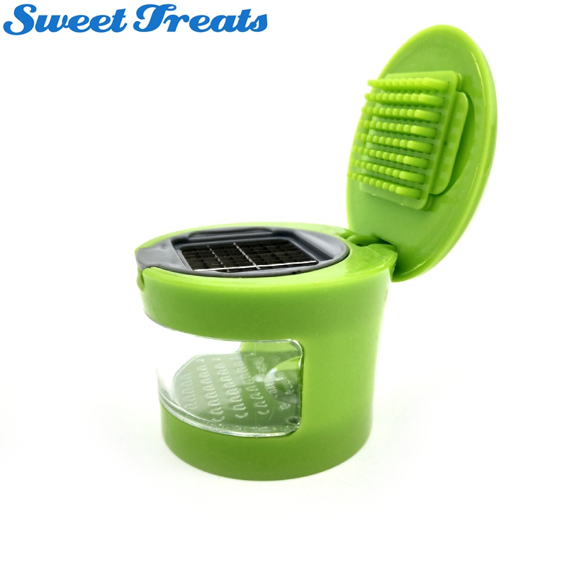 Toppen Garlic Chopper Slicer Dicer Grater Miniature Alligator Press for VY-01