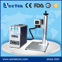 30w 50w Portable Laser Engraving Machine Fiber Laser Marking Machine For Gold Silver Stainless Steel
