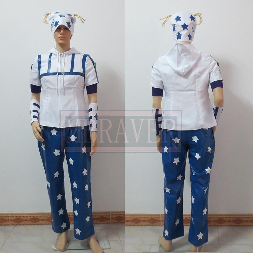 JoJo/'s Bizarre Adventure Johnny Joestar Cosplay Costume Uniform Full Set