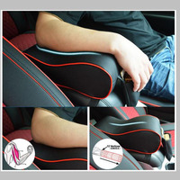 New PU Leather Car Armrest Pad Universal Auto Armrests Covers Car Center Console Memory Cotton Arm