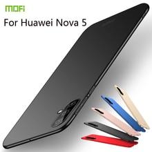 MOFi For Huawei Nova 5 Cover Case PC Hard Luxury Protection Back Fundas Phone Shell