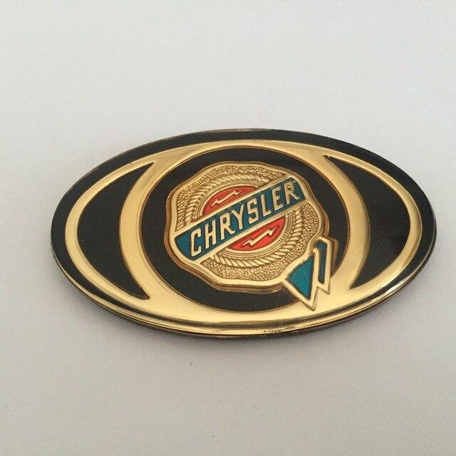 1 יחידות קרייזלר 300C Mopar קדמי גריל גריל מצנפת סמל זהב זהב אקריליק תג רכב מדבקה מותאמת אישית headstock לוגו
