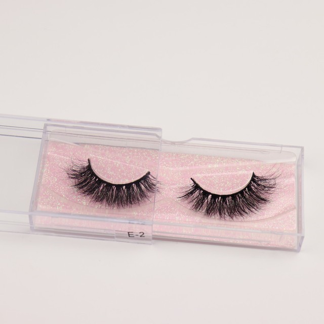 Mink Eyelashes 3D Mink 100% Cruel Eyelashes Handmade Natural Reusable Small Eyelashes False Eyelash Makeup Eye 2