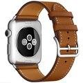 ДАЛАН Серии 2 1 Натуральная Кожа Петля Для Apple Watch band 38 мм Регулируемый ремень Для Apple Watch leather loop Один Тур 42 мм